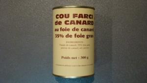Cous farcis de canard aux foies 35% - 300g