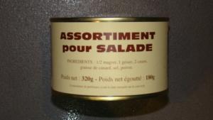 Assortiment pour salade - 180g