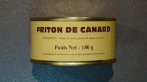 Friton de canard - 180g
